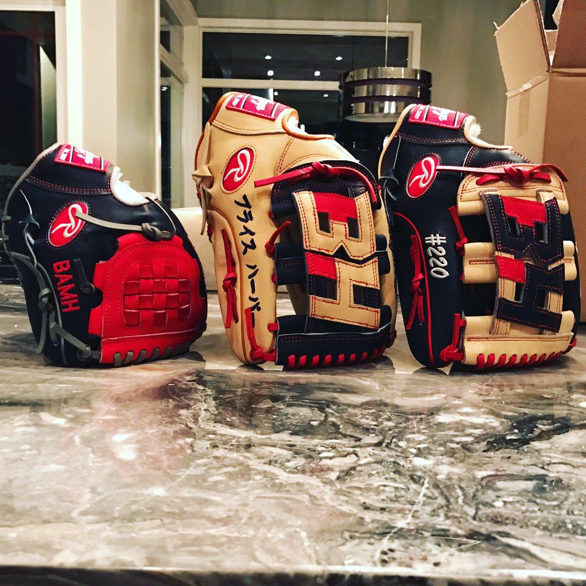 Bryce Harper Glove 2017